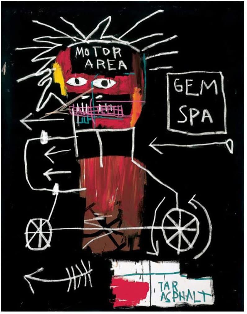untitled gem spa basquiat 1982