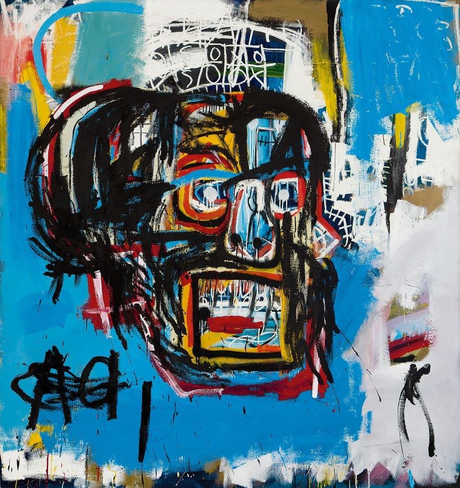 untitled skull basquiat 1982