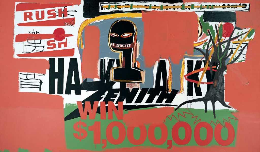 win 1000000 basquiat 1984