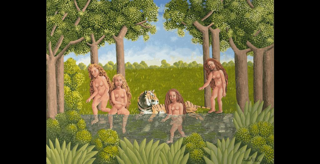 cuatro mujeres en el río isabel villar