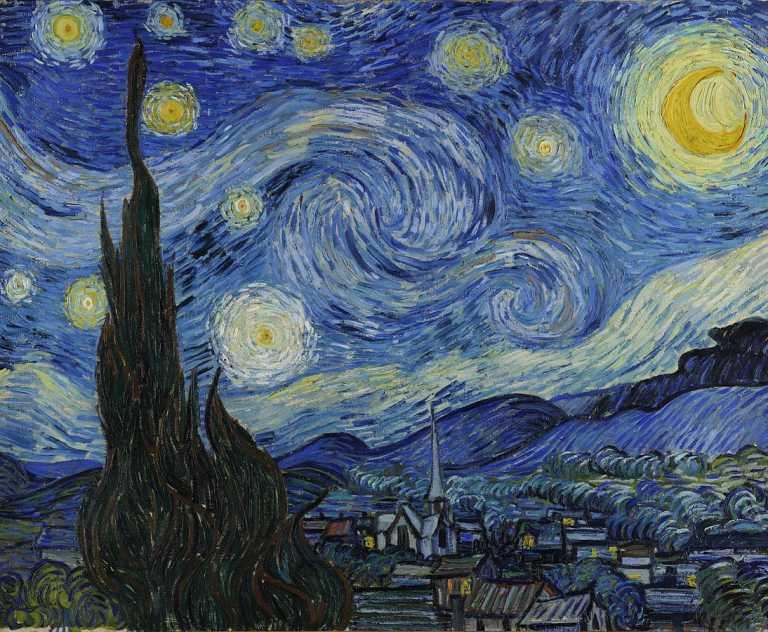 la nuit toilée vincent van gogh 1889